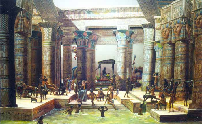 Hot Tub History Egypt